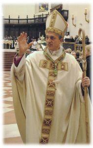 Il vescovo Vittorio Viola